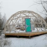 Тентовый купол, диаметр 10м, спорт-парк «Поляна», Иркутск